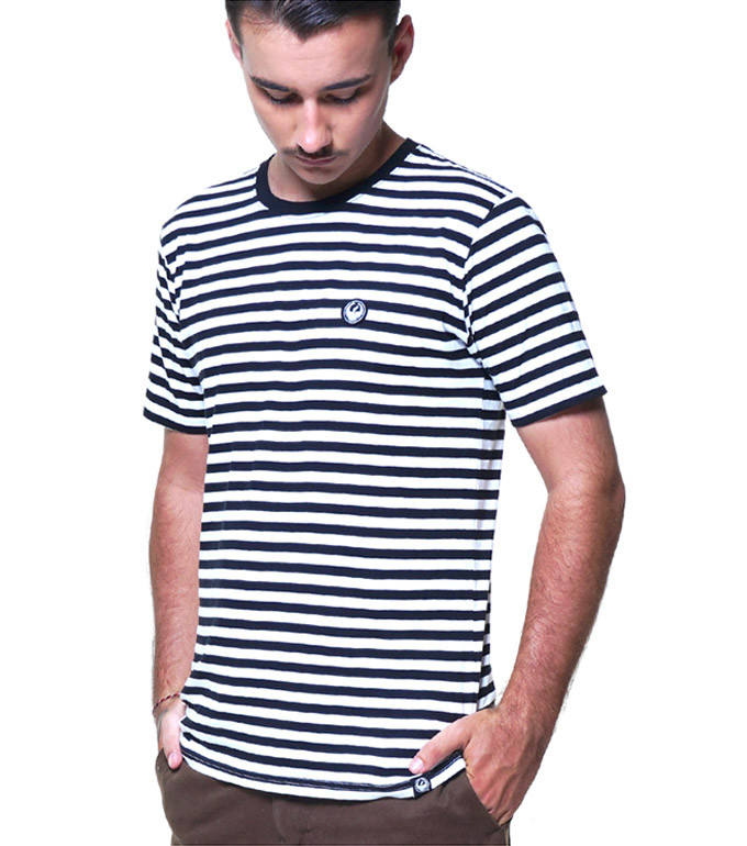 DMSTS STRIPE  BLACK XL