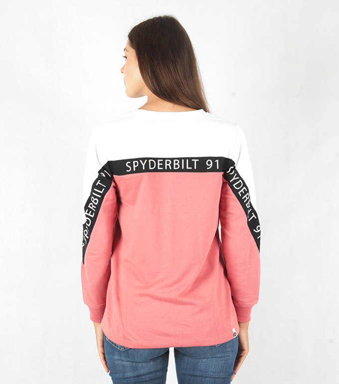 KEY LADIES LONG TEE  PINK 6